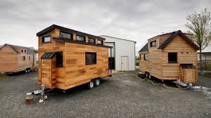 lightweight tiny house provides a towable home for two