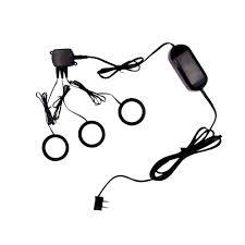 commercial electric 3 light led metal puck light kit