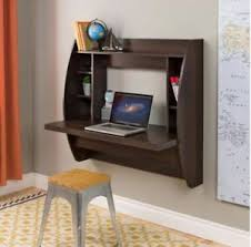 Small Desk Bookshelf Small Desk Floating Wall Mounted Computer Laptop Table Bookshelf