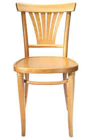 Bentwood Bistro Chair Fanback Bistro Bentwood Cafe Side Chair