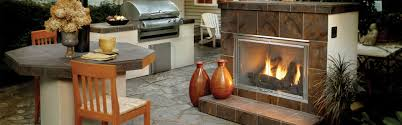 dakota outdoor gas fireplace heat u0026 glo