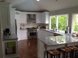 Shaped Kitchen Islands Kitchen Islands L Shaped Kitchen Designs With Wooden Island