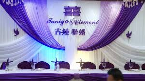 set up wedding backdrop decor toronto 多伦多婚宴场地布置 多伦多