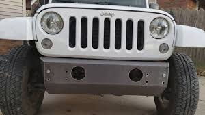 jeep pathkiller mock up of custom stubby bumper build in progress for my jeep