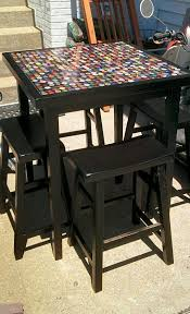 How To Make A Gaming Chair Best 25 Bottle Cap Table Ideas On Pinterest Bottle Cap Projects