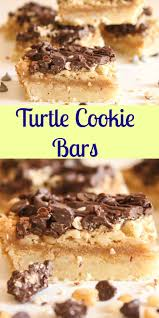 best 25 turtle cookie bars ideas on pinterest turtle recipe