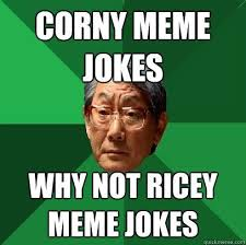 Why Is A Meme Called A Meme - fancy why is a meme called a meme corny meme jokes why not ricey