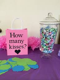 wedding shower party favors is sweet bridal shower how many with kisses pinteres