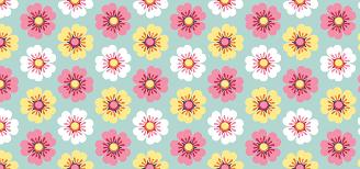 spring flowers petits pixels