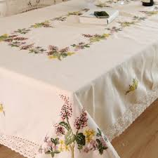 christmas red lace tablecloth 100 percent polyester material full size of kitchen hand embroidery christmas tablecloth home party table decor dining table cover