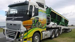 volvo australia trucks decorated truck turning heads queensland country life