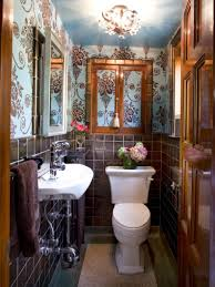country cottage bathroom design ideas from black ceramic flower