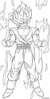 50 best super saiyan goku coloring pages images on pinterest