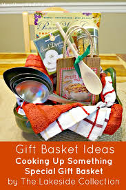 cooking gift baskets unique and creative gift basket ideas