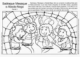 shadrach meshach and abednego coloring page to print 4717