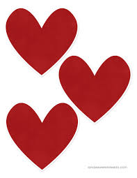 valentine heart attack idea with free printable heart templates