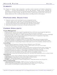 resume summary statement exles management goals professional summary for customer service how to write a perfect