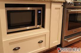 microwave in kitchen cabinet microwave in base cabinet transitional kitchen ta by