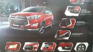 toyota car list with pictures toyota innova venturer feature list indian autos blog