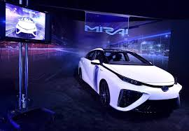 how to lease a car in europe toyota mirai hydrogen car makes hollywood debut la times