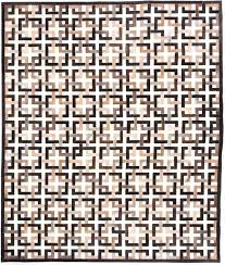 Brown And White Area Rug Directory Galleries Modern Leather Area Rugs