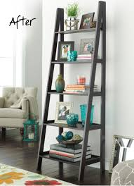 Book Or Magazine Ladder Shelf by Bookshelf Styling Tips Home Style Pinterest Easy Room And