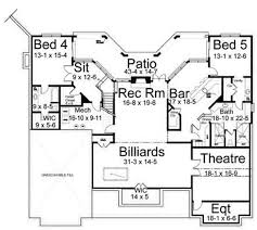 Basement Floor Plans Waterford 6476 3 Bedrooms And 2 Baths The House Designers