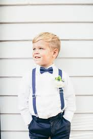 little boy wedding suspenders bow tie hipster haircut boys