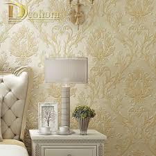Simple European Living Room Design by Aliexpress Com Buy Luxury Simple European 3d Striped Damask
