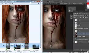 halloween wall cover how to make a horror thriller book cover for halloween youtube