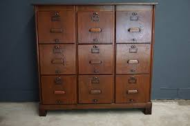 english oak filing cabinet 1930s for sale at pamono