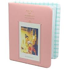 pink photo album fuji instax mini photo album caiul pieces of
