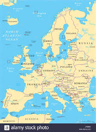 Eurasia Map Political Europe Continent European Union Eurasia Map Atlas