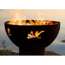 Firepit Wood Steel Pit Wood Burning