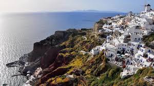 Shade Of Orange Names Bbc Travel The Many Shades Of Santorini