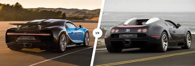 first bugatti veyron ever made bugatti chiron vs veyron speed stats comparison carwow