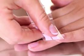 how to apply sensationail gel french manicure sensationail