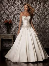 wedding dress ball gown satin naf dresses