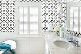 wallpaper for bathroom ideas wallpaper for a bathroom northlight co