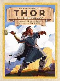 the adventures of thor the thunder god by lise lunge larsen