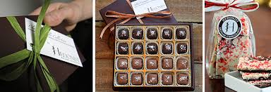 business gifts by hedonist artisan chocolates