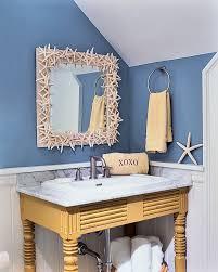 mirror ideas for bathrooms bathroom mirror ideas bathroom with blue walls