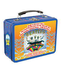 vandor the beatles magical mystery tour tin lunch box zulily