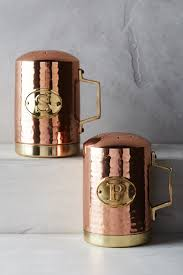 Copper Canister Set Kitchen Orange Kitchen Canisters U0026 Containers Anthropologie