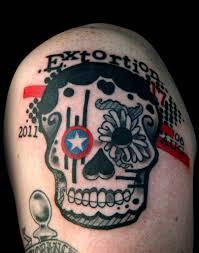 sugar skull memorial tattoos to see