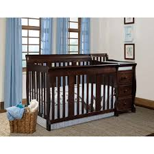Sorelle Tuscany 4 In 1 Convertible Crib And Changer Combo Baby Crib To Size Bed Cache Oxford Lifetime Cherry Baby