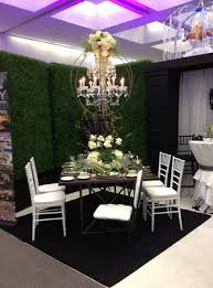 party rental furniture a1 party rental displayed its new x line which had a luxe
