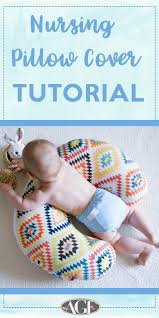 let u0027s talk baby shower gifts nursing pillow cover tutorial art