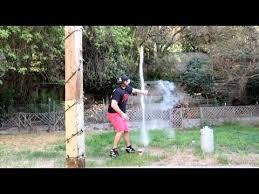l a beast vlog 39 having fun with liquid nitrogen rockets