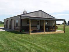 Prefab Barns With Living Quarters Metal Shop Buildings With Living Quarters Google Search Metal